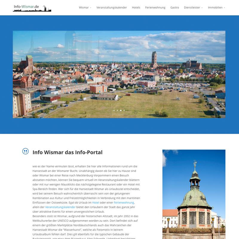 Städte Seite für Wismar