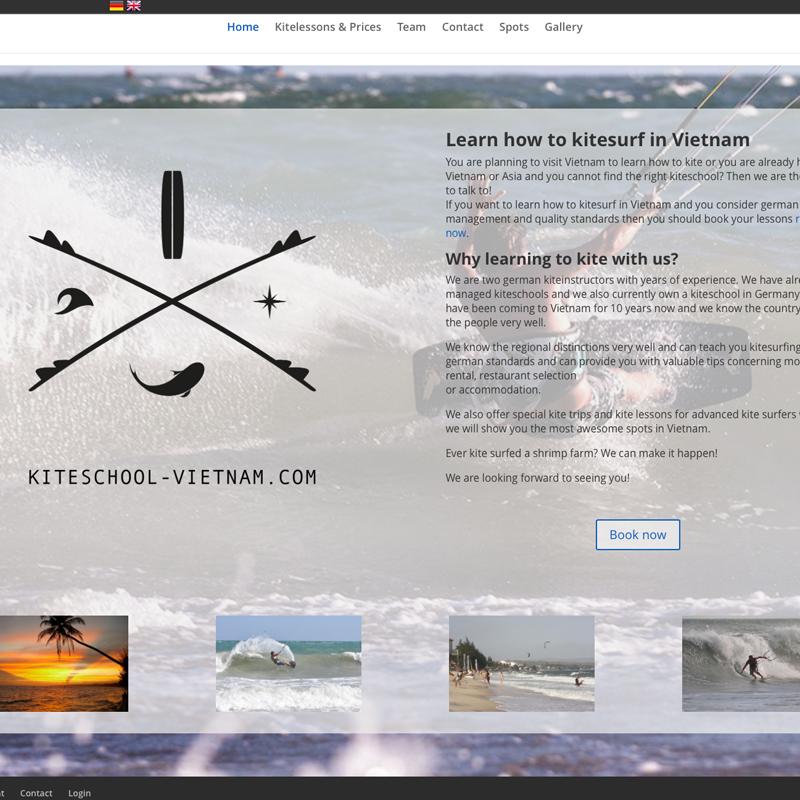 Kiteschule in Vietnam